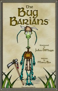 "Book Cover  ""The Bug Barians""¨"